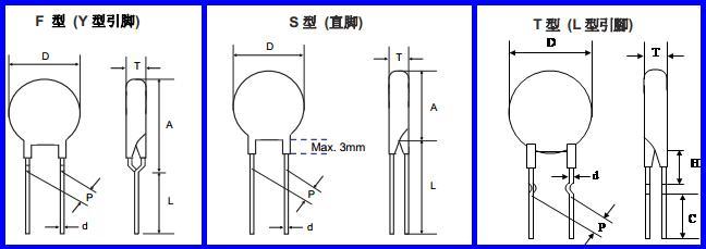 功率型ntc热敏电阻
